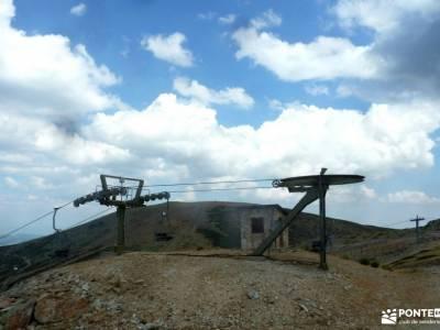Circo Cerradillas-Loma Noruego; semana blanca viajes organizados ski agencias de viaje especializada